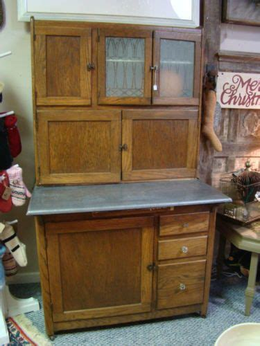 antique hoosier cupboard cabinet beautiful flour sifter