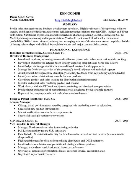 Resume Sle For Entry Level Entry Sales Resume Sales Sales Lewesmr