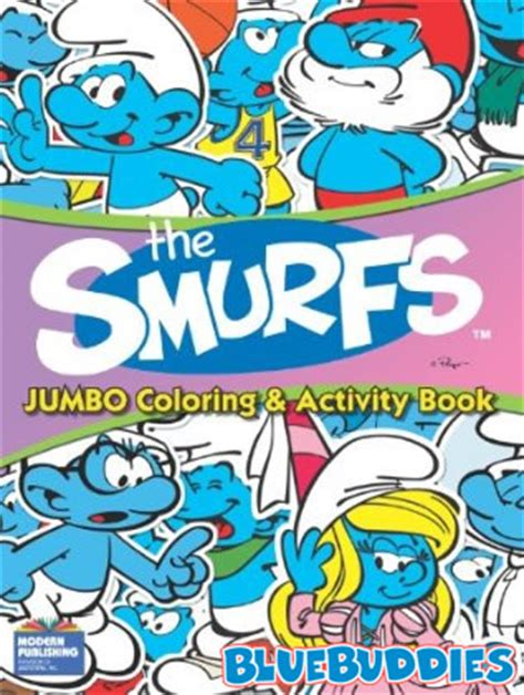 smurf coloring books for sale new smurf books