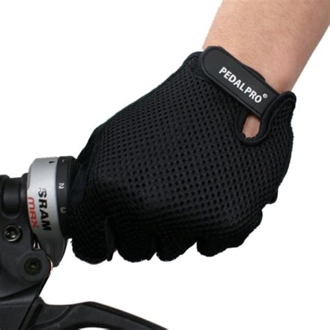 Cycling Gloves M pedalpro cycling gloves padded fingerless mtb mountain
