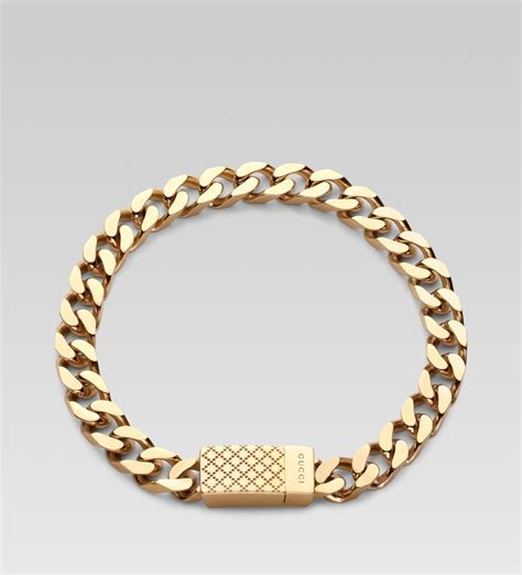 gucci diamantissima bracelet in gold for yellow lyst
