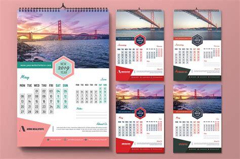 calendar design template photoshop action