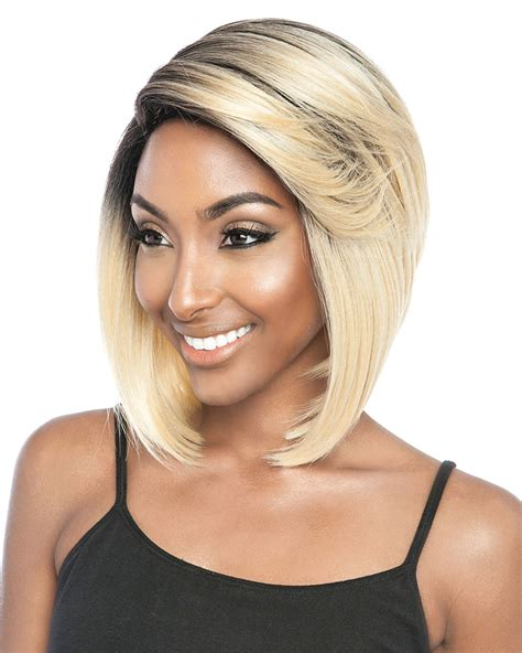 wigs by porsha bss101 porsha human hair blend wig by brown sugar