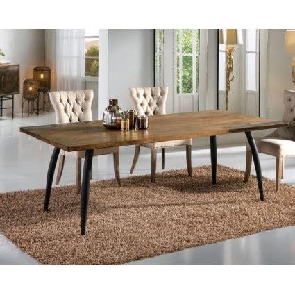 mesa de comedor grande estilo industrial decoracion laton