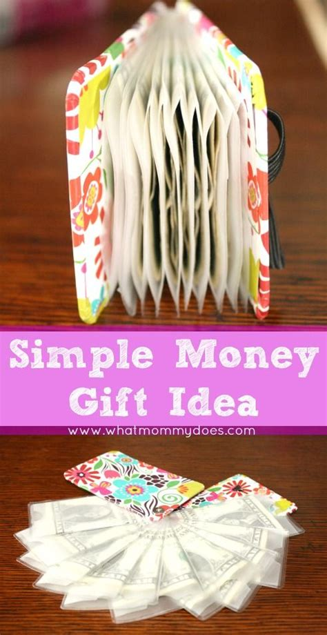 cute creative money gift idea perfect for christmas