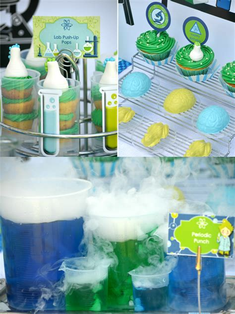 printable science party decorations mad scientist science birthday party ideas party ideas