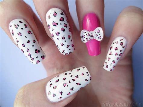 imagenes como decorar uñas u 241 as animal print decorado y moda