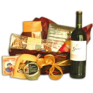 Gift Card Argentina - christmas wine gift basket to buenos aires argentina gift giving ideas giftbook