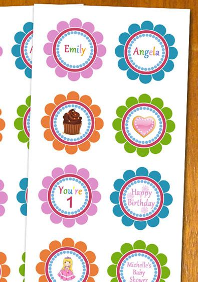 Free Sle Printable Cupcake Toppers Template Cupcake Topper Template Photoshop