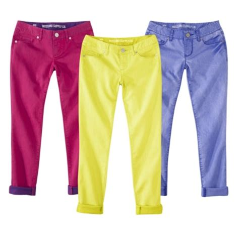 colored for juniors target daily deal mossimo juniors colored buy 1