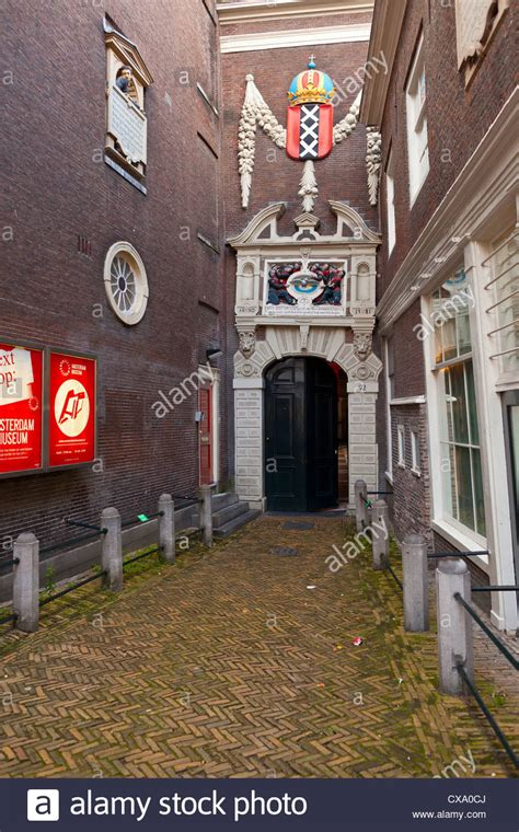 amsterdam museum entrance stock photos amsterdam museum - Amsterdam Museum Free Entrance