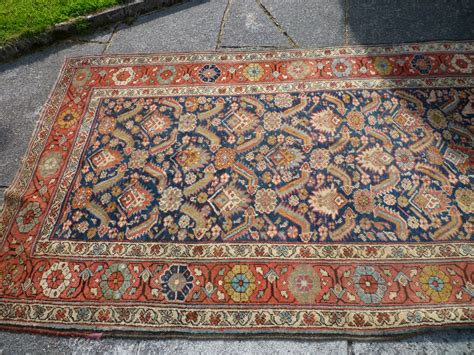 heavy rugs thick piled runner probably turn of 19 20th century heavy rug with colours