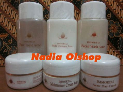 Immortal Acne Series rossa grosir distributor immortal theraskin malang