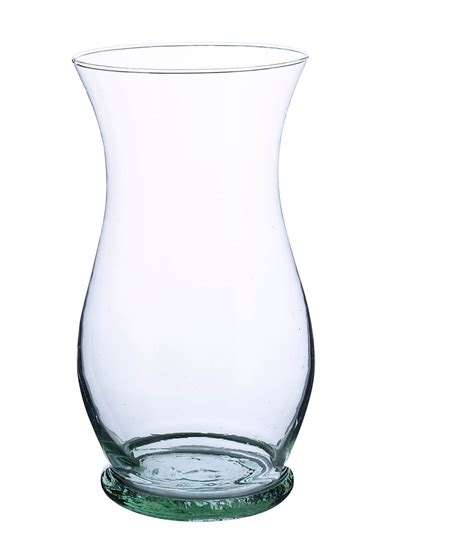 Glass Vase florist clear glass vases 10in gala urn vase