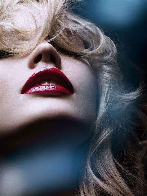 blonde girl with red lipstick blonde girl lipstick red image 460305 on favim com