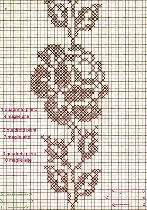 schemi di tende a filet filet uncinetto come iniziare tutorial spiegazioni
