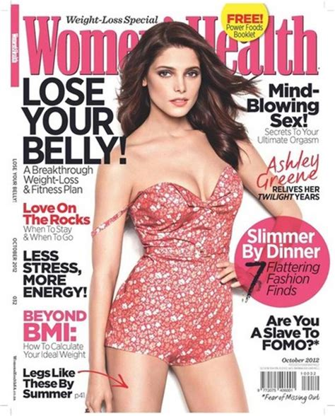ashley greene magazine cover twilighters images ashley greene on womens health mag