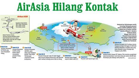 airasia kontak airasia hilang kontak cindy sempat izin kepala sma dempo