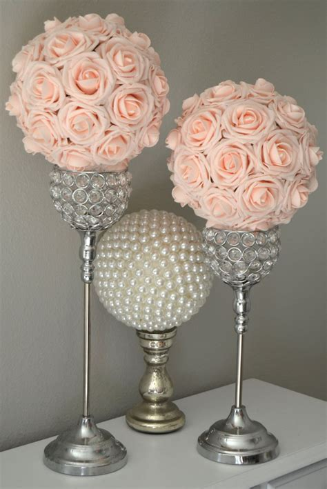 pink flower centerpieces for weddings 25 best ideas about flower on deco
