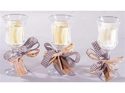 bomboniere candele bomboniere candele bicchiere vetro bomboniere matrimonio