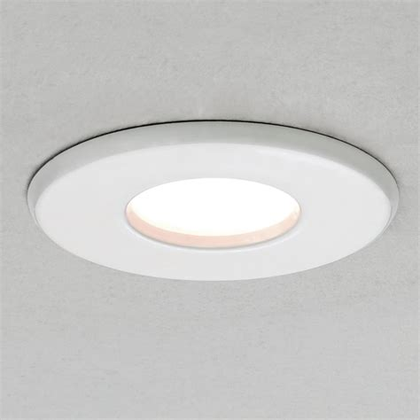 Astro Lighting 5707 Kamo Led Ip65 Bathroom Downlight In White Ip65 Bathroom Lights