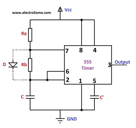 voltage across capacitor in astable multivibrator astable oscillator circuit page 4 oscillator circuits next gr