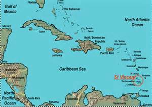map of south america and caribbean islands big blue 1840 1940 st vincent and a look at runaway