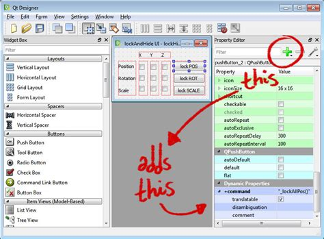 qt layout tool iker j de los mozos lockandhide tool quick qt ui in maya