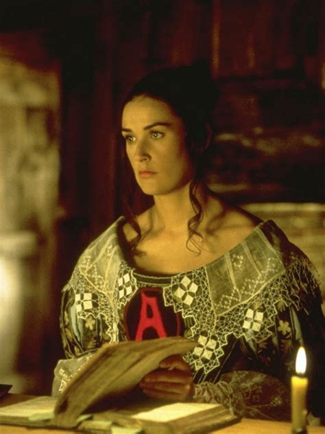 The Scarlet Letter the partial view review the scarlet letter 1995