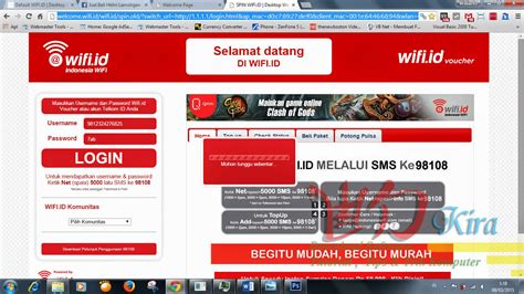 Wifi Unlimited Telkom cara daftar unlimited kuota wifi id telkom dengan