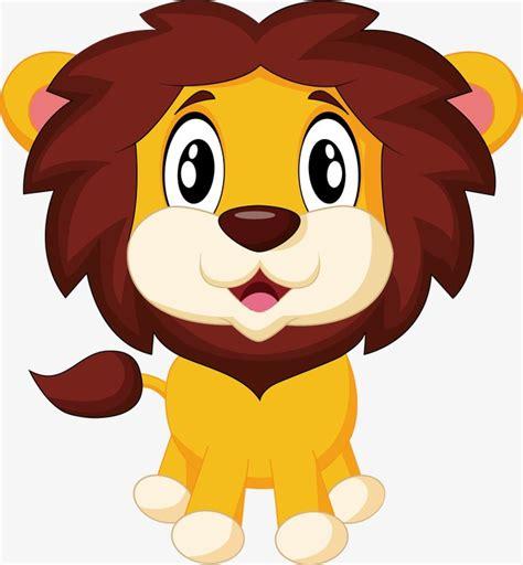 imagenes de leones bravos pintado a mano de dibujos animados patr 243 n de le 243 n pintado