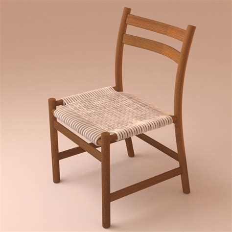 stuhl mã max 3d model braided deck chair stuhl