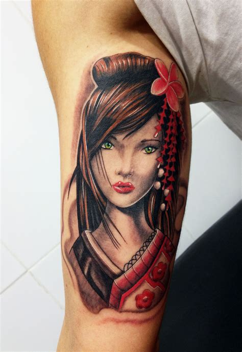 geisha girl tattoo design 52 japanese geisha tattoos ideas and meanings