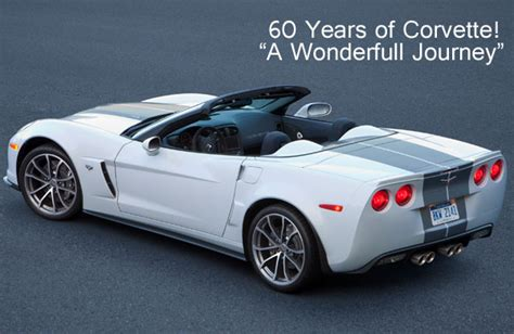 first corvette ever made 60 years of corvette a successful journey with so high