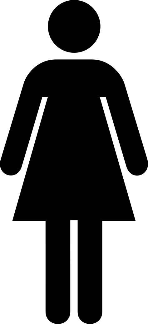 women s bathroom logo public domain clip art image aiga women s toilet symbol