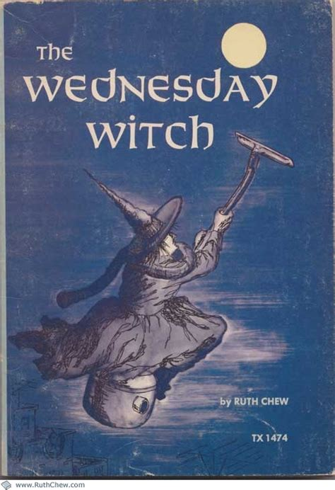 is a witch books the wednesday witch ruth chew