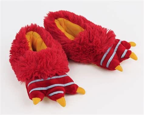 house shoes kids kids red monster slippers kids monster foot slippers