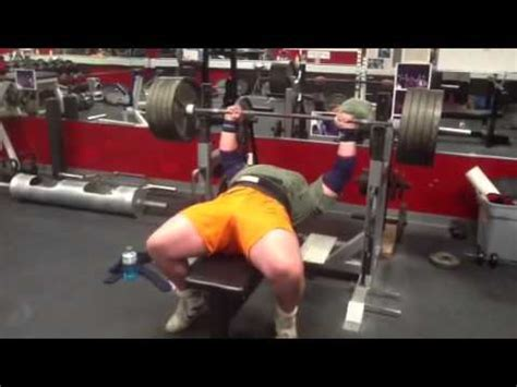 495 bench press 495 bench press reps stan efferding rhino 495 pound