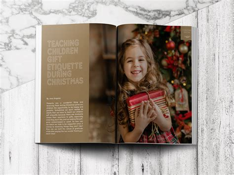 teaching children gift etiquette during christmas my