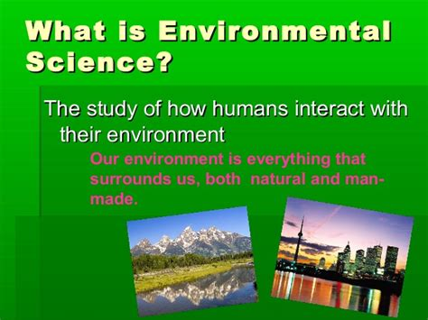 Mba In Environmental Science by Environmental Science