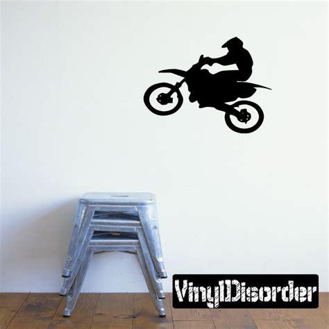 dirt bike wall stickers dirt bike motocross wall decal vinyl decal car decal cd022