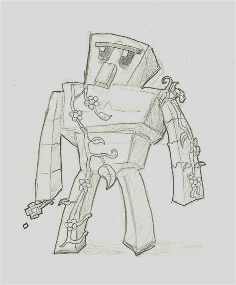 minecraft coloring pages iron golem minecraft redstone coloring coloring pages