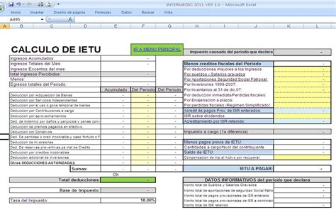 declaracion anual pf en excel herramientas fiscales