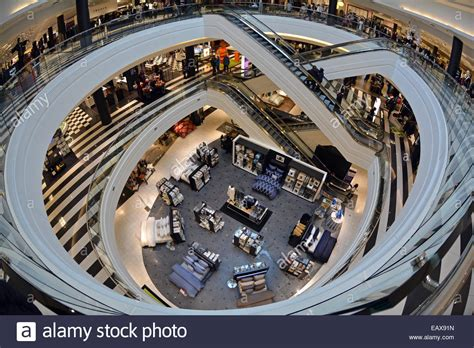 anthropologie store interior nyc stock photo royalty free image 60960993 alamy a fisheye lens interior view of 3 floors of bloomingdales