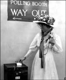 Emmeline pankhurst led the suffragette movement