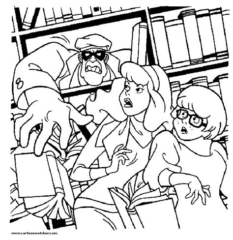 daphne scooby doo coloring book coloring pages
