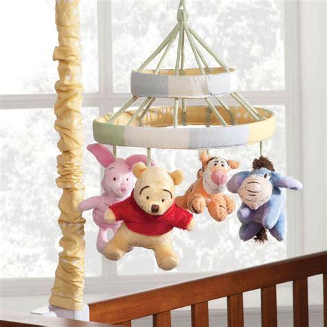 Peeking Pooh Crib Bedding Winnie The Pooh Mobile Peeking Pooh Disney Baby