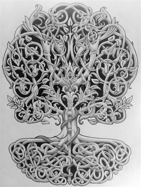 celtic tree tattoo designs 10 things to about the tree of baum des lebens