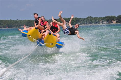 banana tube boat ride in goa coral island full day banana boat parasailing phuket