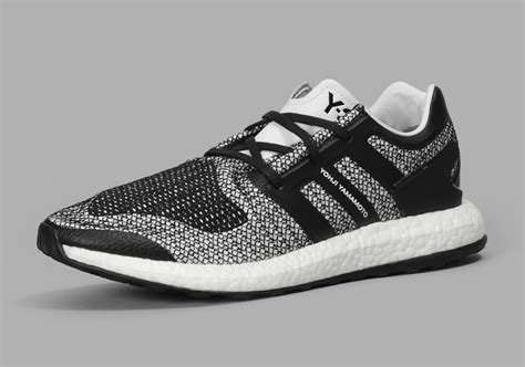 adidas y 3 pureboost adidas y 3 boost black white cp9888 sneakernews